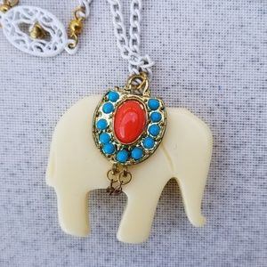 Juicy Couture Elephant Necklace